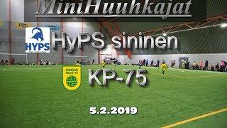 Mini Huuhkajat HyPS sininen vs KP-75