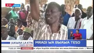Wakazi wa Teso Kasikazini wapinga ujenzi wa Bwawa wakihofia ni njama wa kuwanyanganya ardhi.