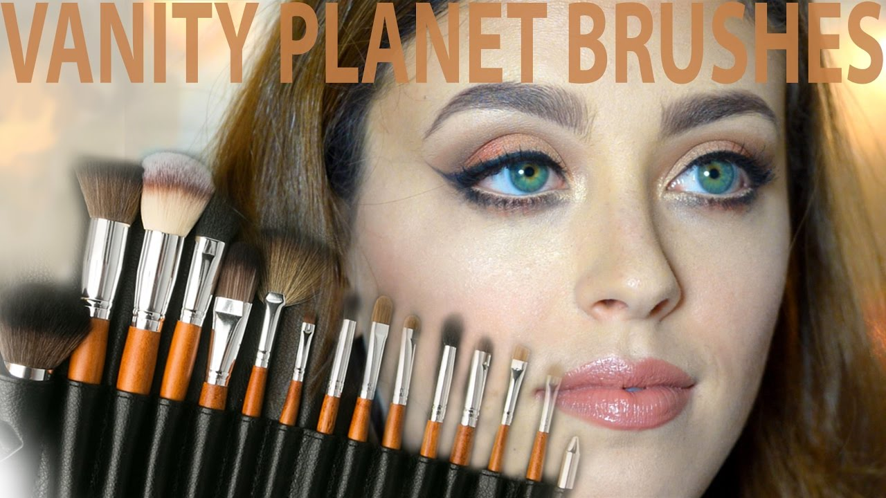 Vanity Planet Brush Set First Impressions Review Amp Demo