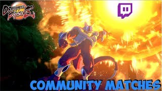 The Try Hards Return! Twitch Community Match Highlights: Dragon Ball FighterZ