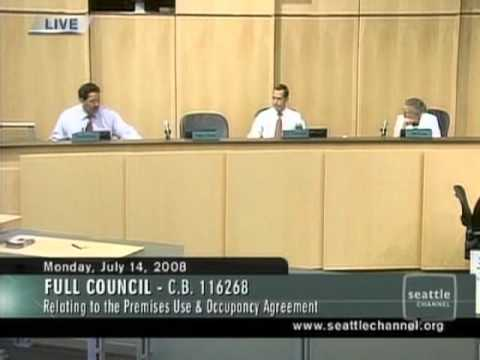Seattle City Council sells out the SuperSonics - July 14, 2008