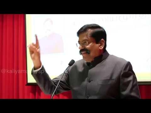 Speech about Wife  Mr.Amurthy   Former SP