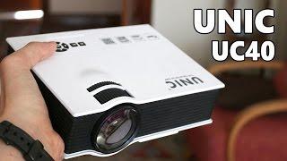 UNIC UC40, proyector LED de bajo coste