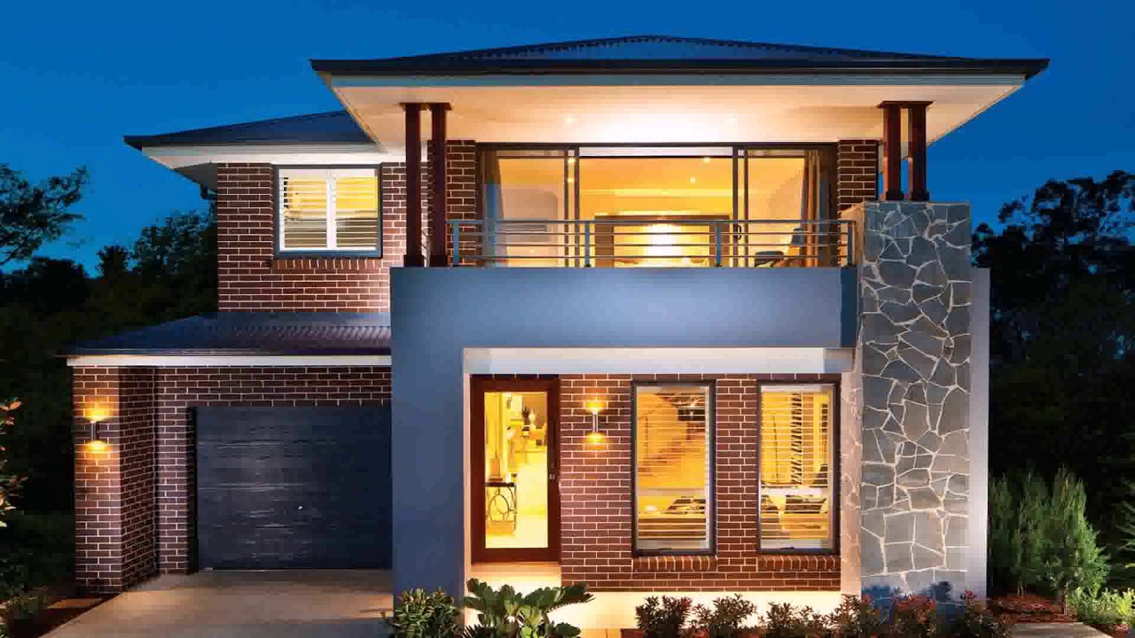 Narrow Lot House Plans With Front Garage Australia