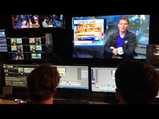 Behind the Scenes Look at CHSTV - Award Winning HS Broadcasting