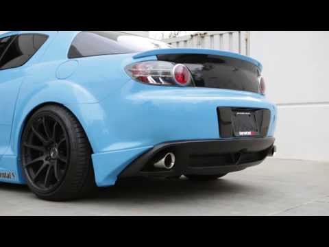 Tanabe Medalion Touring Exhaust for 2004-2006 Mazda RX-8 (*With high flow cat*)