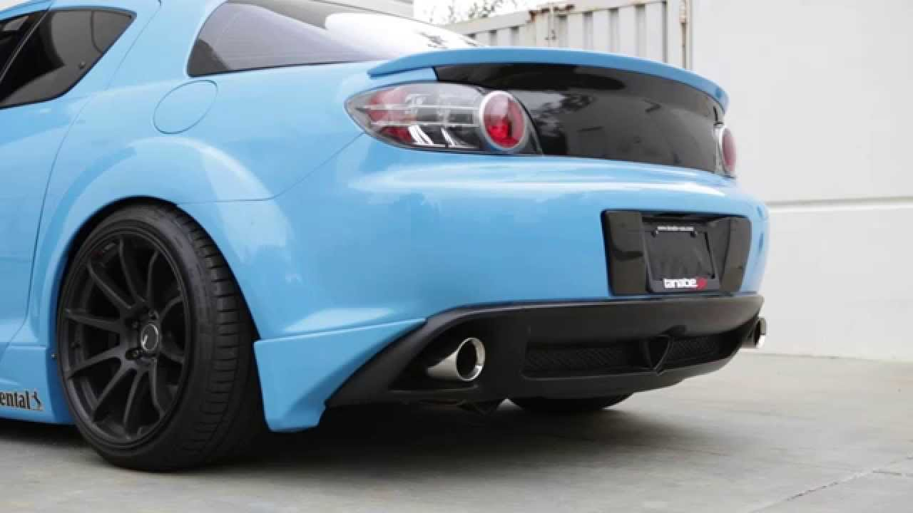 tanabe medalion touring exhaust for 2004-2006 mazda rx-8 (*with