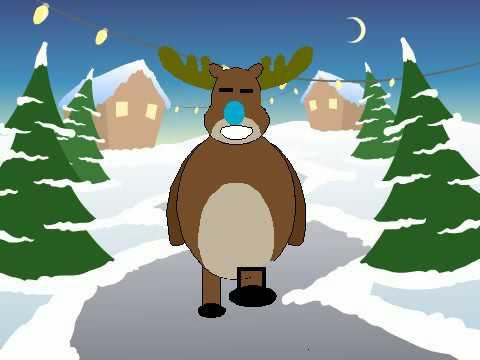Reindeer Christmas Animation!