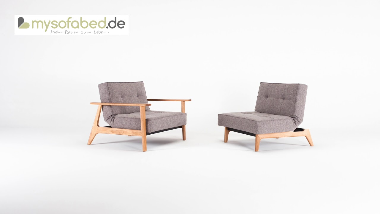 Innovation Splitback Schlafsessel Mysofabed De