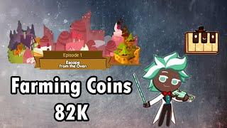 Line Cookie Run - Farming Coins 82K