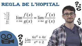 Regla de l'Hopital - Demostración con EJEMPLOS prácticos