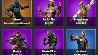 New* Fortnite v5.30 Leaked Skins, Backblings, Gliders, Emotes and More!
