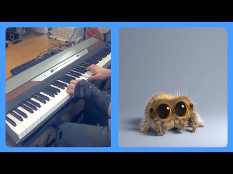 Lucas the Spider - Polar Bear But It's A Piano Dub