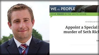 something epic is happening to the wh petition to investigate seth rich s death