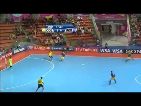 Camilo Reyes vs ukraine 2012 FIFA Futsal World Cup