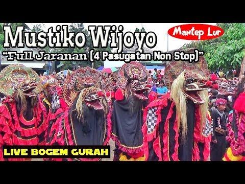 Jaranan Mustiko Wijoyo Full Jaranan (4 Pasugatan) --- Mantep (Live Bogem Gurah) - 동영상