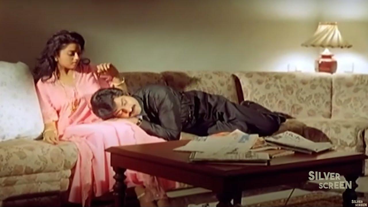 Meena And Jagapathi Babu Funny Scene | Telugu Scenes | Siilver Screen Movies