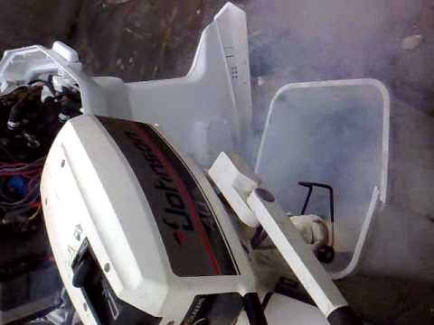 johnson outboard 6r79e how to start