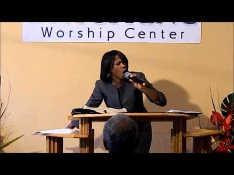 Pastor Dana's Dedication service to CT