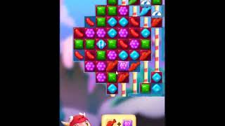 Candy Crush Friends Saga Level 523 - NO BOOSTERS 👩‍👧‍👦 | SKILLGAMING ✔️