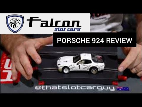 Falcon slot porsche 924 slot car review