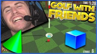THESE BALLS ARE TOO SENSITIVE! (Golf With Your Friends)