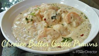 Cheesee Butter Garlic Prawns Butter Garlic PrawnsRadha&#39s Rasoi