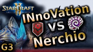 Starcraft 2 LotV - INnoVation vs Nerchio [TvZ] G3 - Legacy of the void 2016 tournament