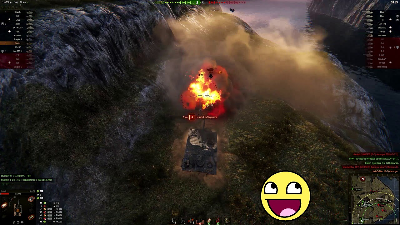 World of Tanks – Epic wins and fails [Episode 93]