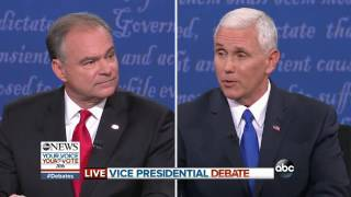 VP Debate Full Highlights | Pence, Kaine on Immigration Policy