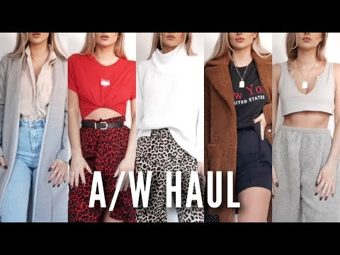 Autumn / Winter Try On Haul 2018 | Fashion Influx