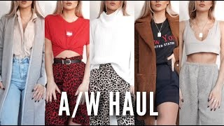 Autumn / Winter Try On Haul 2018 | Fashion Influx thumbnail