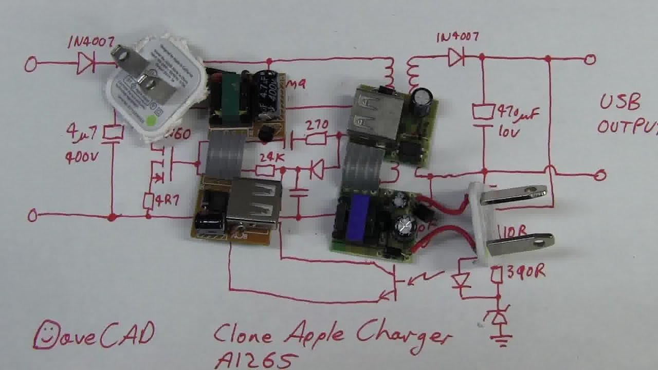 Eevblog 388 Fake Apple Usb Charger Teardown Youtube Power Supply Circuit Diagram For Devices