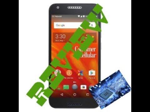 Review-Consumer Cellular Alcatel Kora