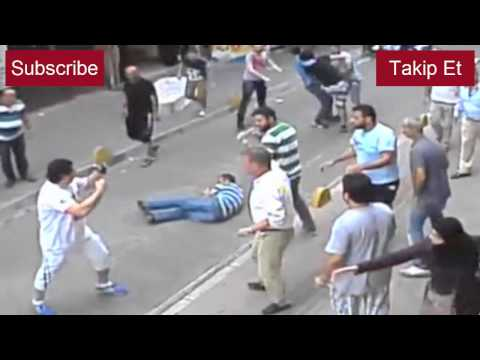Irlandalı turist tüm esnafı dövdü