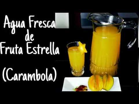 Agua Fresca de Carambola | Fruta Estrella | Sabores Vintage