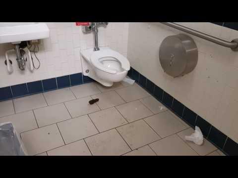 Your Typical Miami VA Medical Center Bathroom