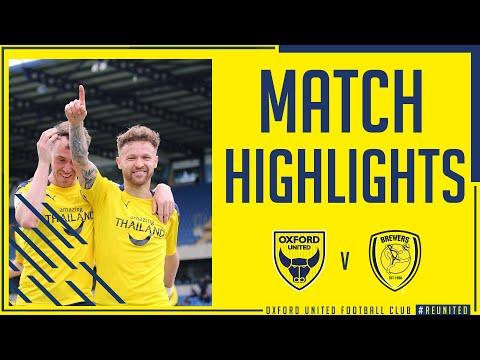 Oxford Utd Burton Goals And Highlights