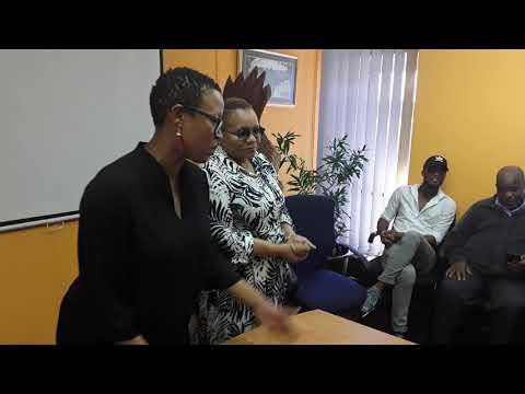 Dudu Khoza Surprised by Ukhozi FM Staff
