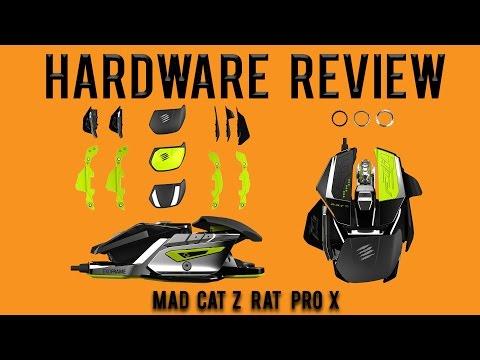 Hardware Review: Mad Catz RAT Pro X Ultimate Modular Gaming Mouse (PixArt PMW3310)