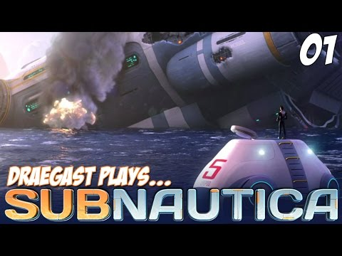 Subnautica Gameplay - Building a Sub! - Let's Play Subnautica Part 1