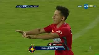 Morutan egaleaza in min 49 al meciului Gaz Metan - FCSB, 1-1