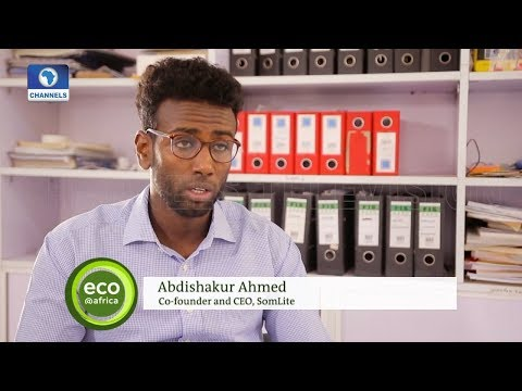 Somalian Invents Affordable Solar Lights | Eco@Africa |