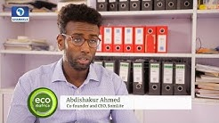 Somalian Invents Affordable Solar Lights   Eco@Africa  