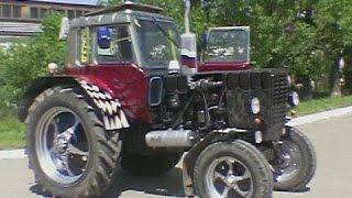 тюнинг тракторов видео