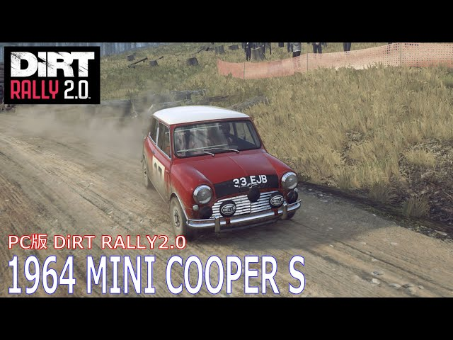 PC版 DiRT RALLY 2.0 1964 MINI COOPER S