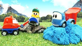 Фото Грузовичок Лева. Развивающие мультфильмы для самых маленьких. Пазлы