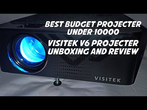 Visitek V6 Projecter Unboxing And Review || Best Budget projecter || Technical Reaction