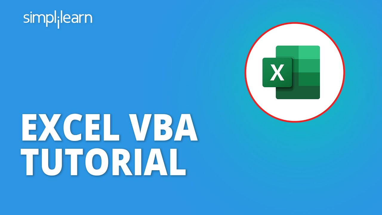 Excel VBA Tutorial | Excel VBA Programming | VBA For Beginners | Excel Tutorial