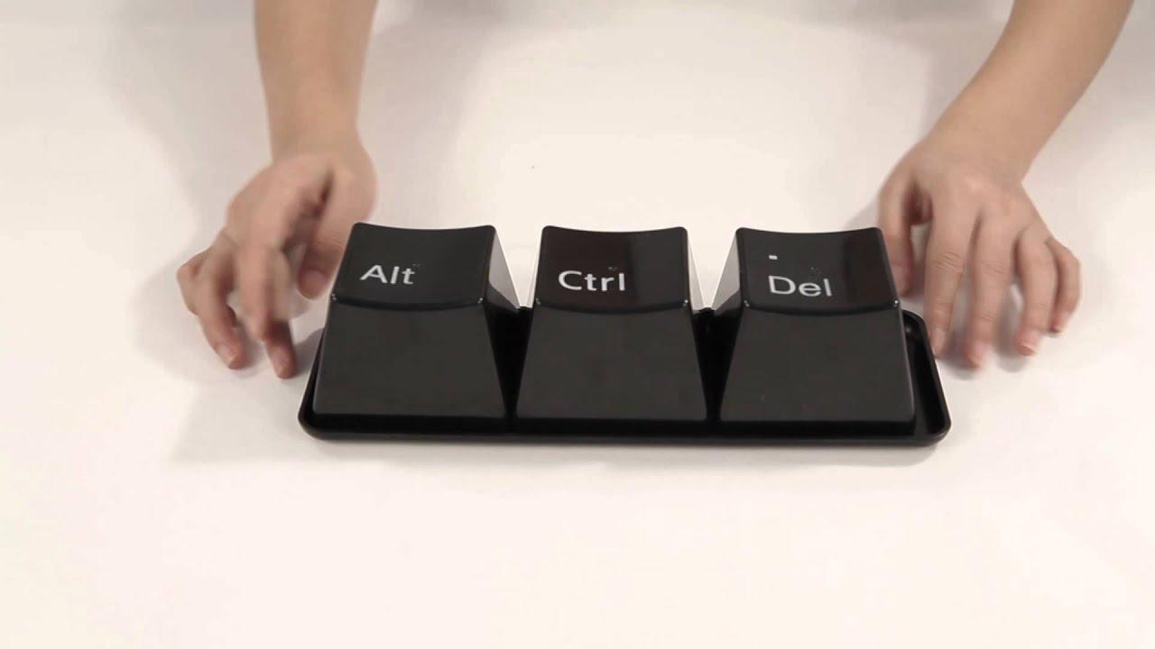 LQSH™ LeQuShengHuo Ctrl Alt Del Shaped Control Key ...